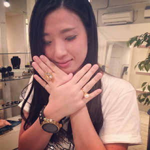 【LUCIEN ELEMENTS】CRYSTAL RING♡ by kayo_f0053343_1251214.jpg