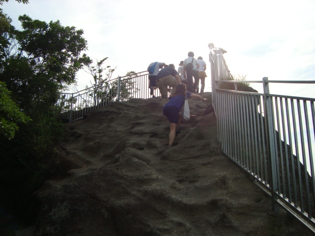 鋸山(のこぎりやま)を登る。_f0232060_17185294.jpg