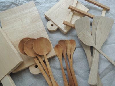 木遊工房さんの木べらやまな板が届いています_b0252363_10451268.jpg