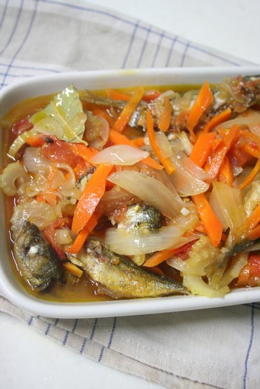 野菜たっぷり!小鯵のエスカベッシュ_f0141419_08353257.jpg