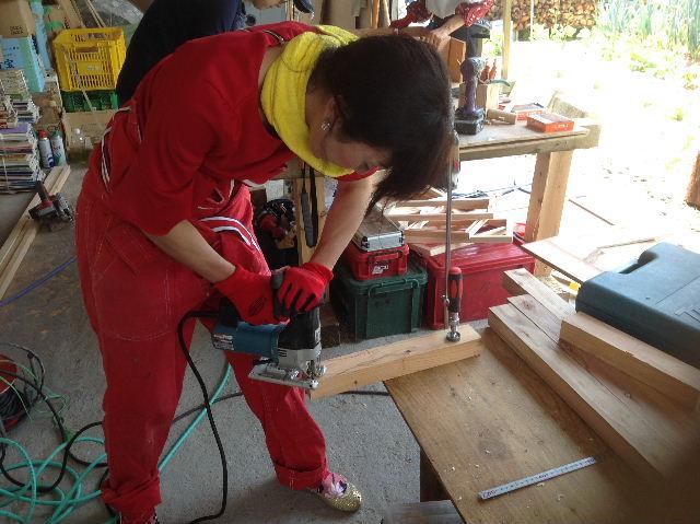 木工女子部  作品作り_f0031037_2032115.jpg