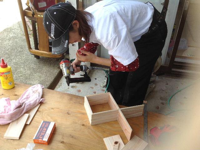 木工女子部  作品作り_f0031037_20333173.jpg