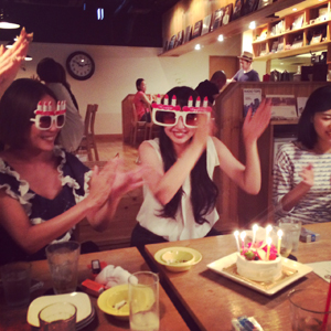 CRYSTAL PIERCE(&surprise party!!)by natsumi_f0053343_1623284.jpg