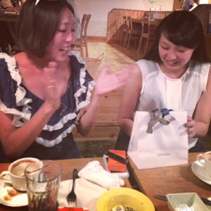 CRYSTAL PIERCE(&surprise party!!)by natsumi_f0053343_1625129.jpg