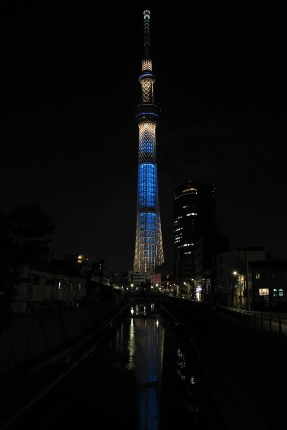 頑張れ!サッカー日本代表 東京スカイツリー   _d0202264_5393429.jpg
