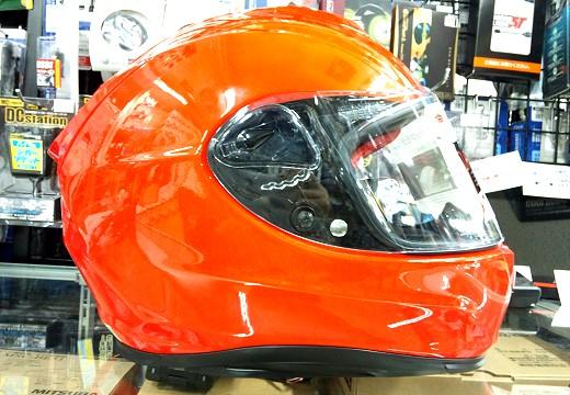 OGKの新型ヘルメットRT-33。_b0163075_8261799.jpg