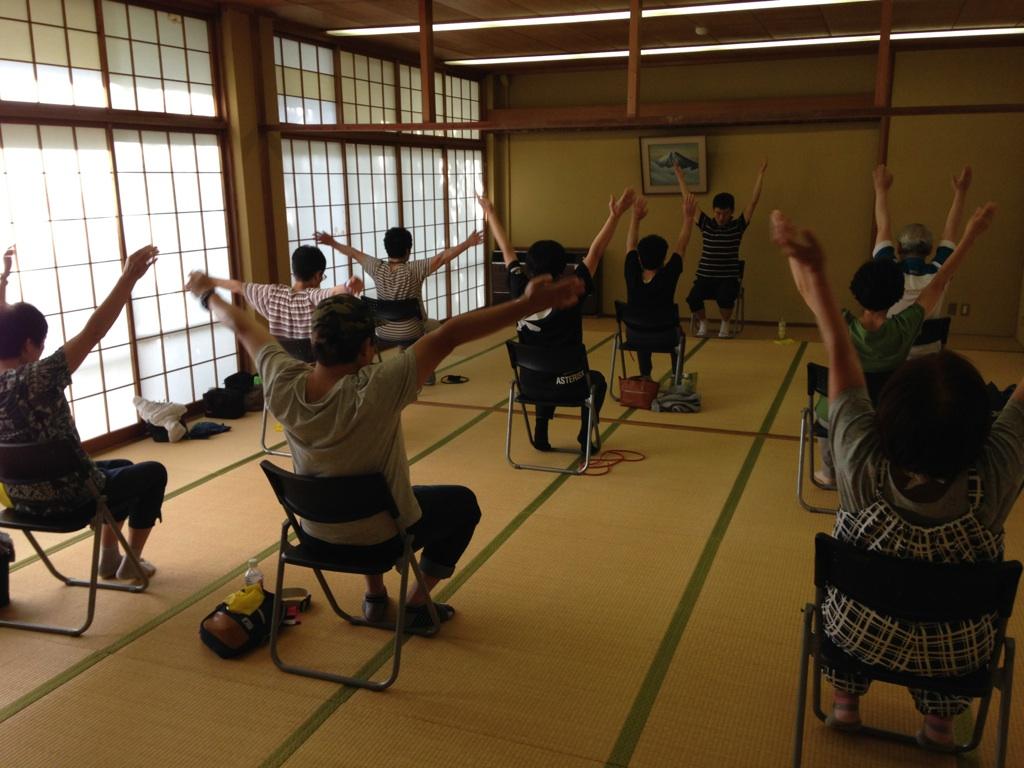 けんこう体操教室_c0234975_945328.jpg