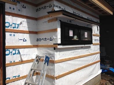 2世帯住宅への増築工事_e0030180_16431794.jpg