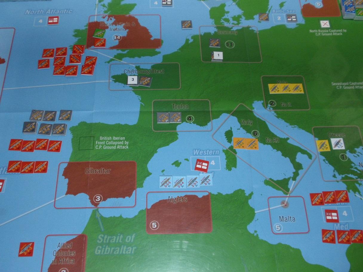 Decision Games「Nine Navies War」⑧_b0162202_19282116.jpg