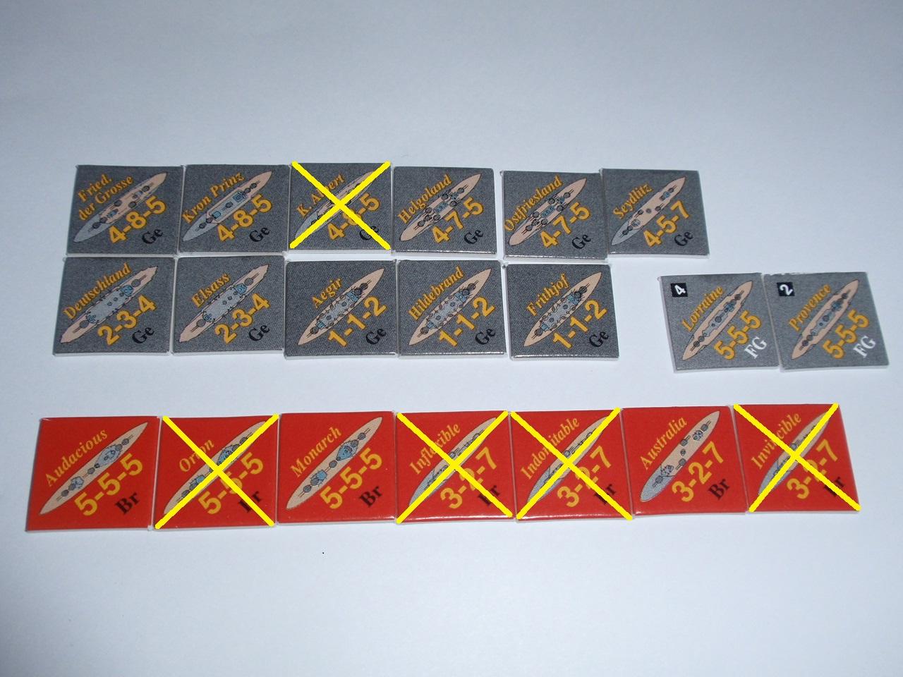 Decision Games「Nine Navies War」⑧_b0162202_1928438.jpg