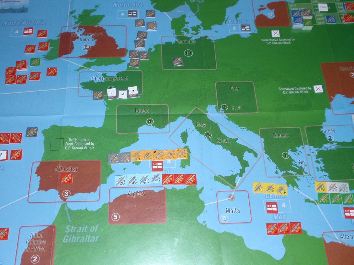 Decision Games「Nine Navies War」⑧_b0162202_19295413.jpg