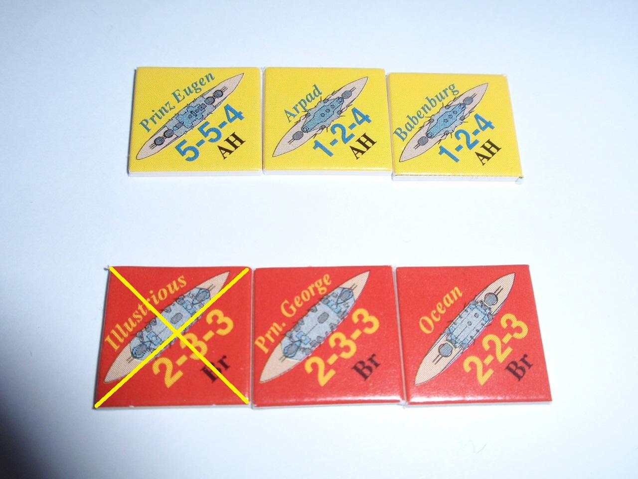 Decision Games「Nine Navies War」⑧_b0162202_19301919.jpg