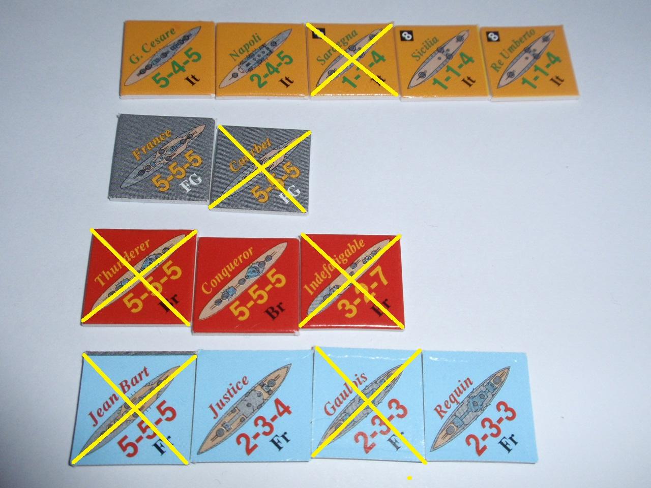 Decision Games「Nine Navies War」⑧_b0162202_19303026.jpg