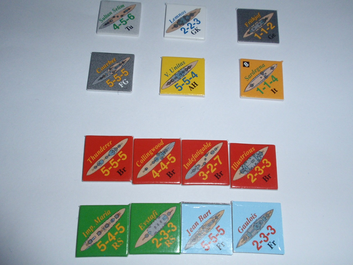 Decision Games「Nine Navies War」⑧_b0162202_19305338.jpg