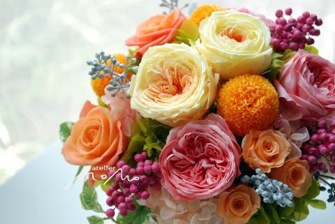 ご結婚お祝いにアレンジを!_a0136507_16324102.jpg