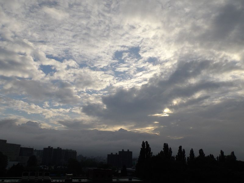 垂れこめた雲の上には夏空があるようなのだが・・・_c0025115_19281449.jpg