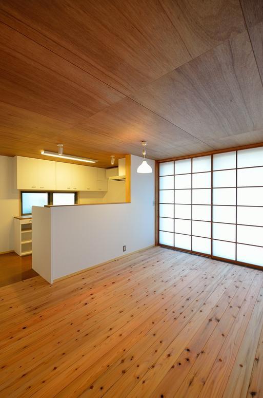 SKさんの家 「とりあえず」完成(3) 台所_a0039934_17335055.jpg