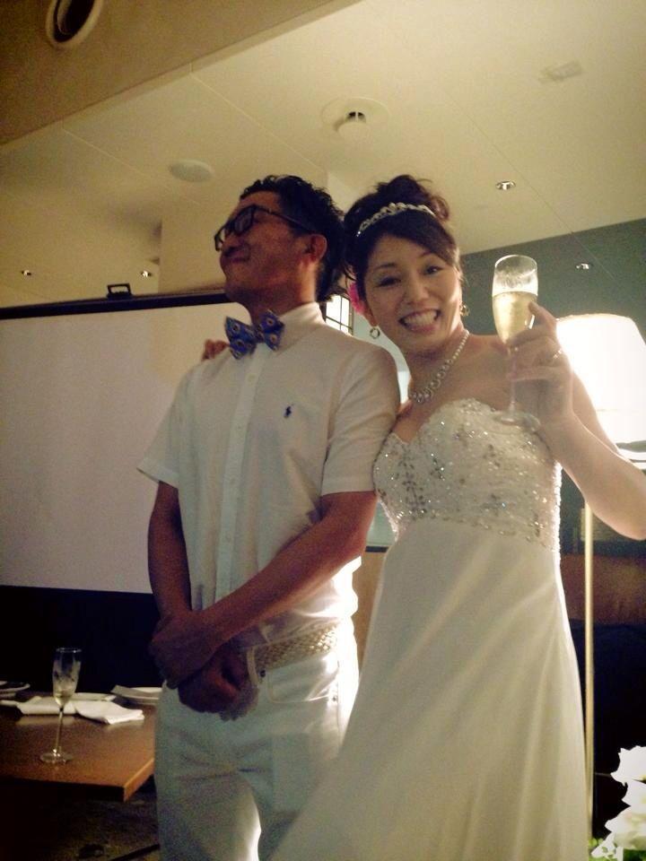 優子ちゃん結婚式〜♩_c0151965_21592657.jpg