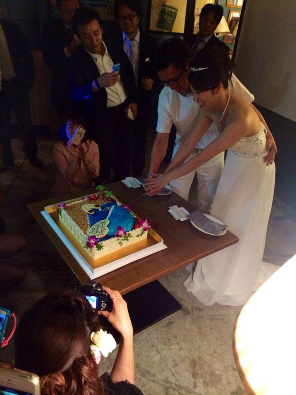 優子ちゃん結婚式〜♩_c0151965_21592876.jpg