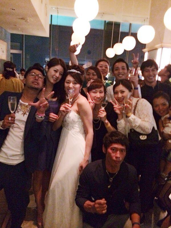 優子ちゃん結婚式〜♩_c0151965_21593092.jpg