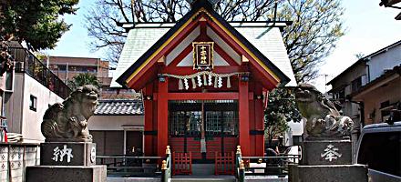大田区矢口 ◆十寄神社◆_f0322193_1225418.jpg