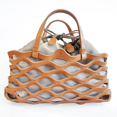 Leather Mesh Tote / Teha\'amana_d0193211_16473247.jpg