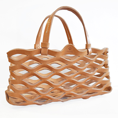 Leather Mesh Tote / Teha\'amana_d0193211_16481084.jpg