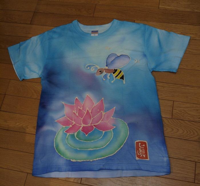ろうけつ染めTシャツ♪_c0116915_0301031.jpg