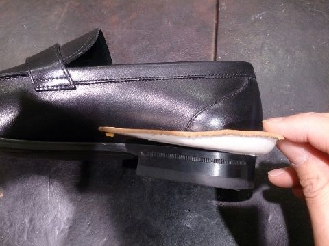 「靴擦れした!」_b0226322_13482332.jpg