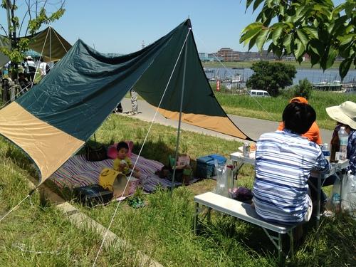 バーベキューin江戸川河川敷_a0267942_20134523.jpg