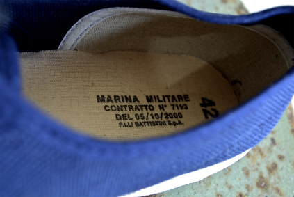 Italian marine sneaker 後期タイプ _f0226051_1553390.jpg