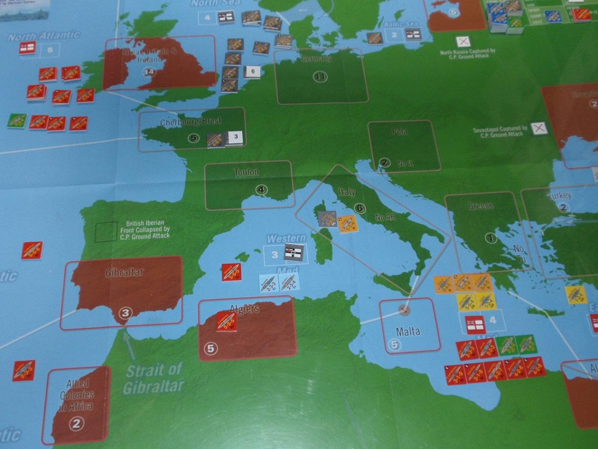 Decision Games「Nine Navies War」⑨_b0162202_18221340.jpg