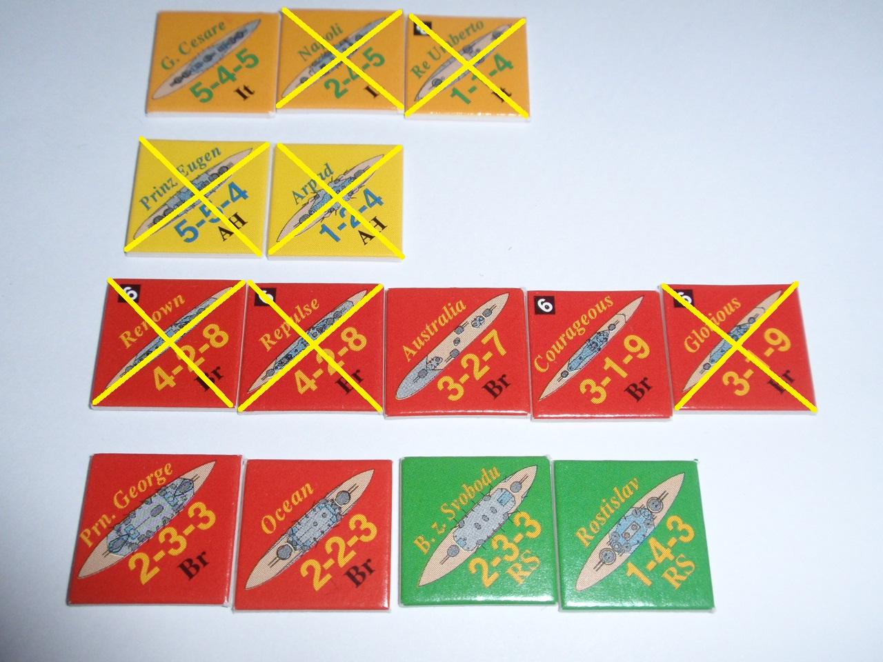 Decision Games「Nine Navies War」⑨_b0162202_18222499.jpg