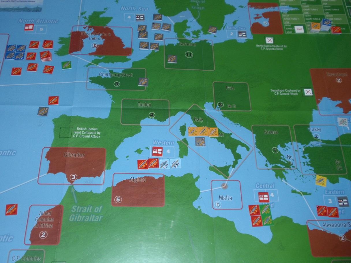 Decision Games「Nine Navies War」⑨_b0162202_18232747.jpg
