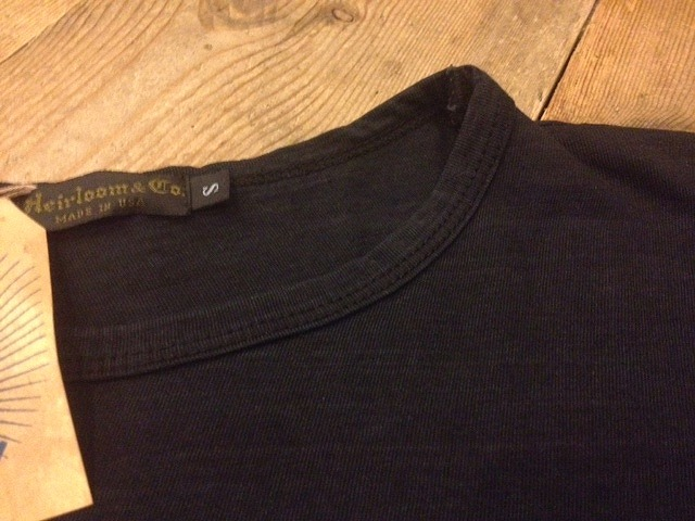 BLACK INDIGO POCKET Tee_d0121303_14243115.jpg