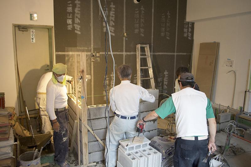 新宿 『cafe  wall』 施工日記no,2_f0192906_237116.jpg