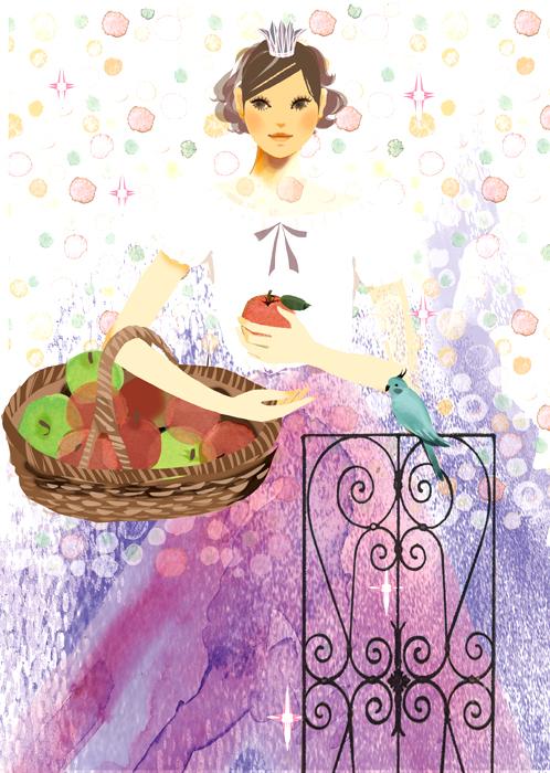 雑誌『からだにいいこと』巻末コラム19 リンゴの力_f0172313_18431921.jpg