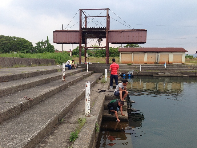 2014釣りキャンプ_a0164918_1673773.jpg
