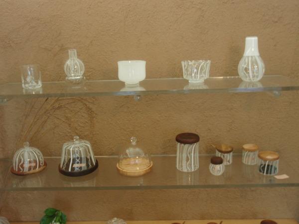 アキノヨーコガラス展 明日からです_b0132442_18380188.jpg