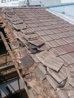 板橋区の上板橋で屋根工事_c0223192_19563290.jpg