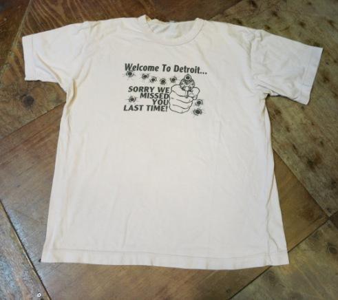 6/21(土)入荷!80'S WELCOME TO DETROIT Tシャツ!_c0144020_16163851.jpg