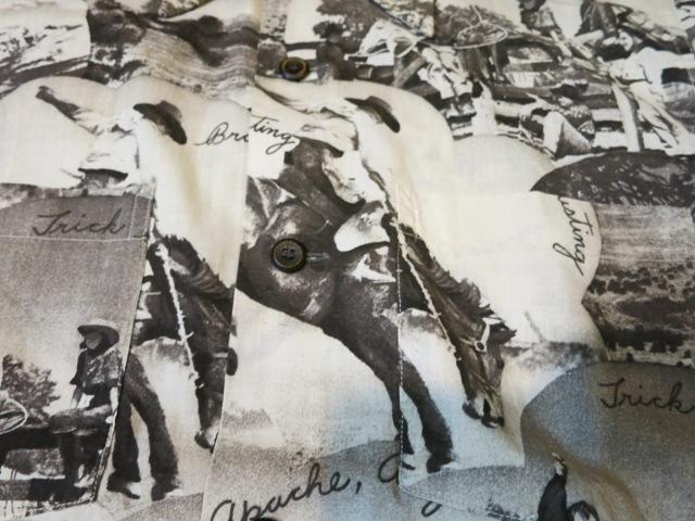 6/21(土)入荷!40'S~Deercreek コットン ピクチャープリントシャツ!_c0144020_1661555.jpg