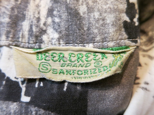 6/21(土)入荷!40'S~Deercreek コットン ピクチャープリントシャツ!_c0144020_1661912.jpg