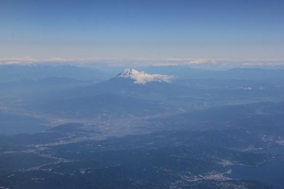 日本上空 絶景 富士山_d0202264_522434.jpg