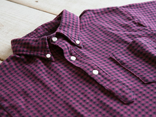 GINGHAM CHECK B.D.POLO SHIRTS_d0160378_20332957.jpg