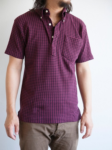 GINGHAM CHECK B.D.POLO SHIRTS_d0160378_2034536.jpg