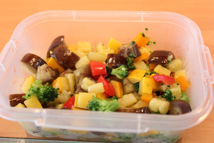 夏野菜とお豆腐三昧_a0223786_1301052.jpg