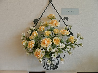 『ねんどの花展』 ~Clay Art~_e0190287_14272484.jpg