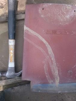 練馬区の北町で雨漏り修理工事_c0223192_2142634.jpg