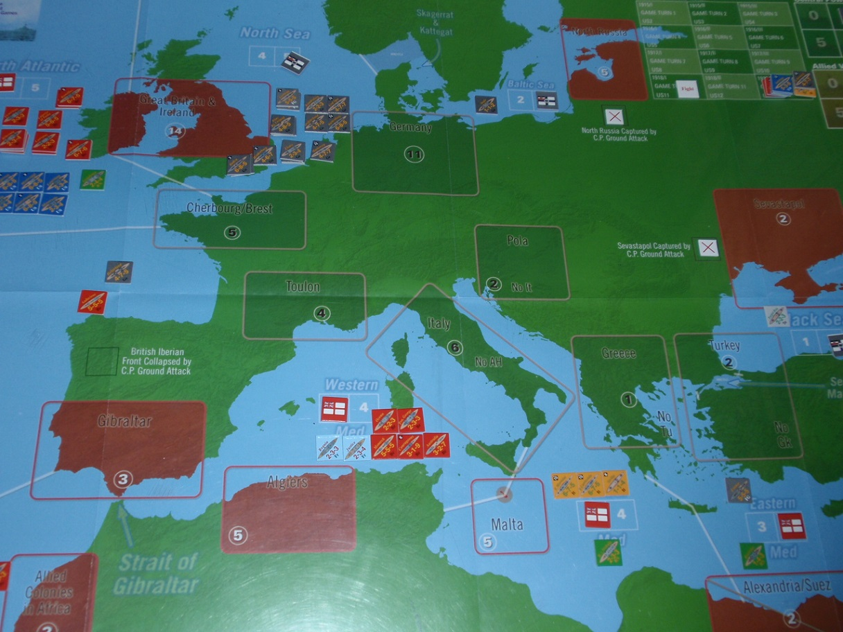 Decision Games「Nine Navies War」⑩_b0162202_13254792.jpg